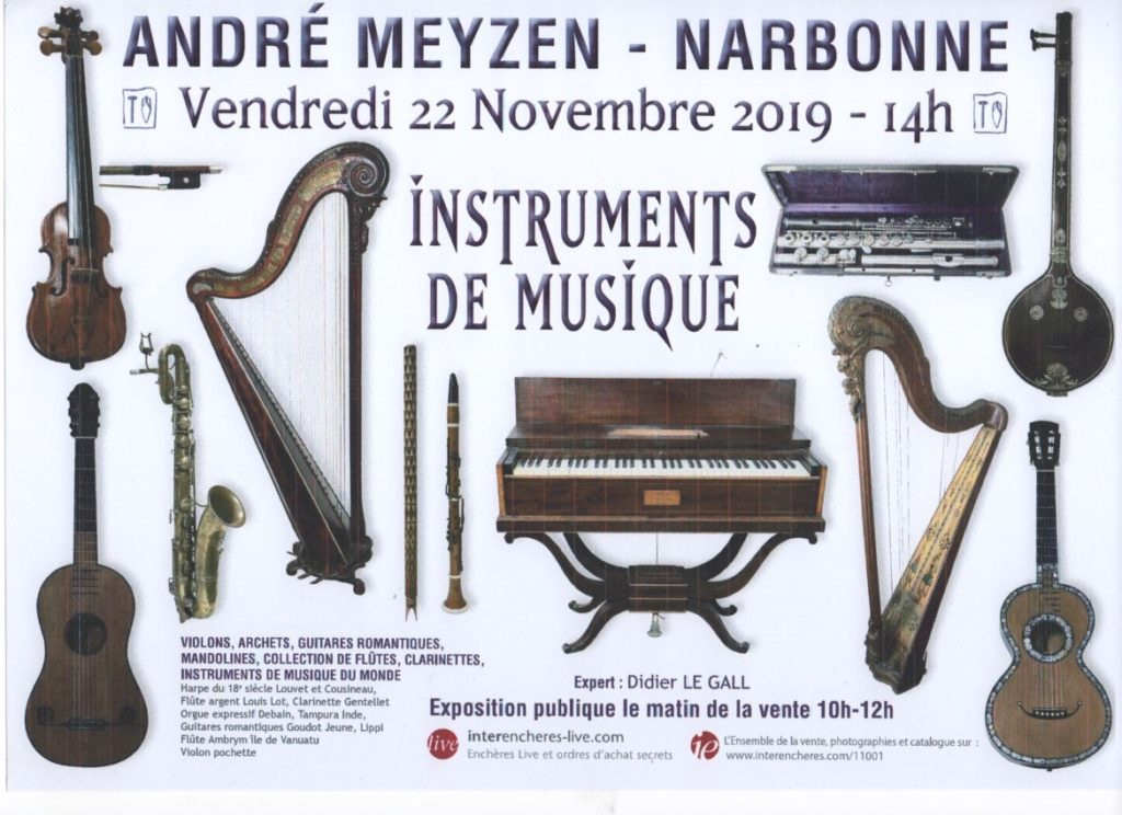 vente aux enchères Narbonne